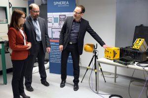 Spherea Germany – News Ronja Schmitt zu Besuch